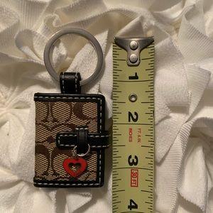 Coach Accessories - Coach Locket Keychain